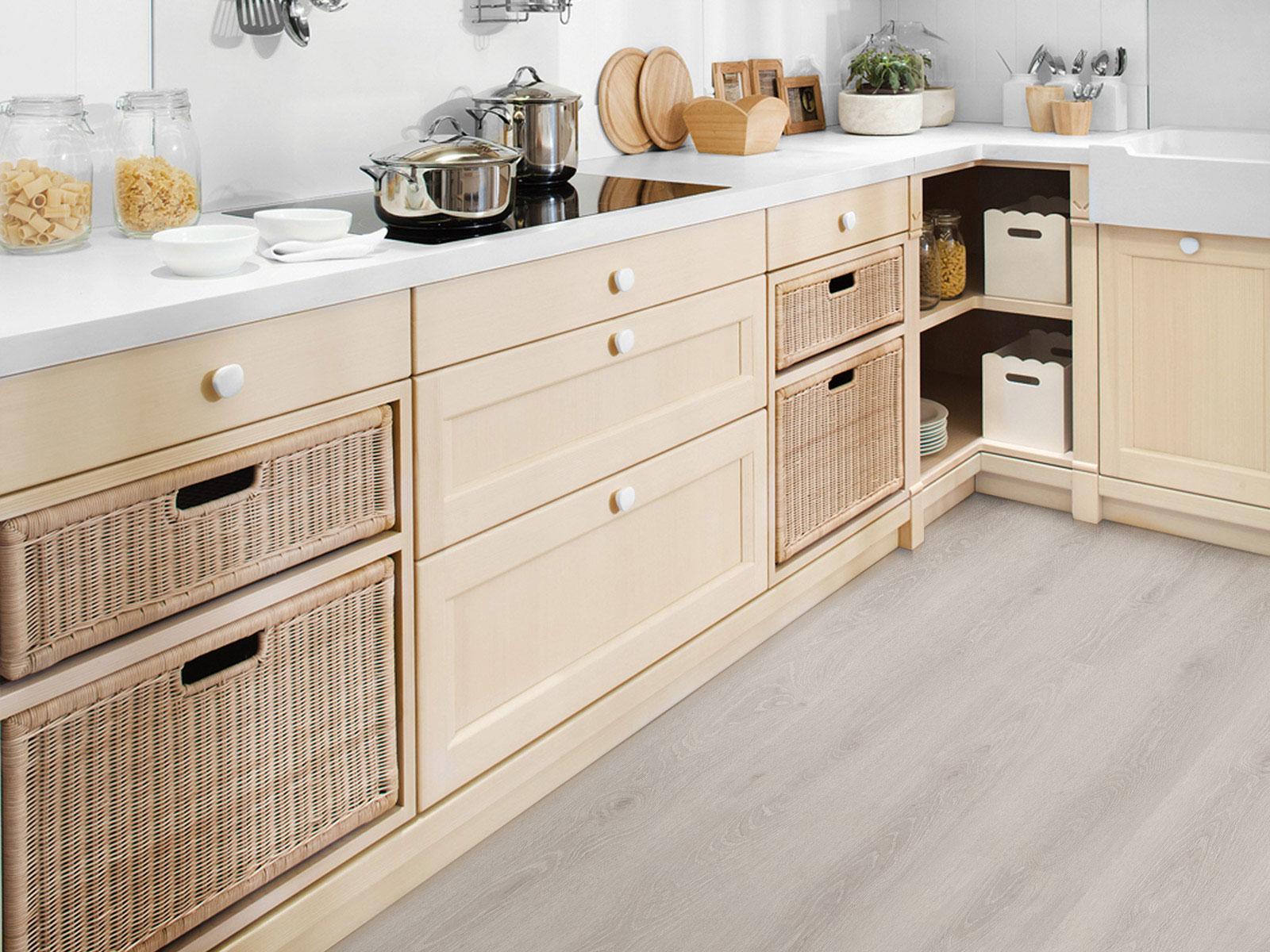 Sàn gỗ Hornitex phòng bếp