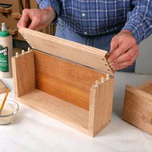Dán gỗ bằng keo hiệu quả
