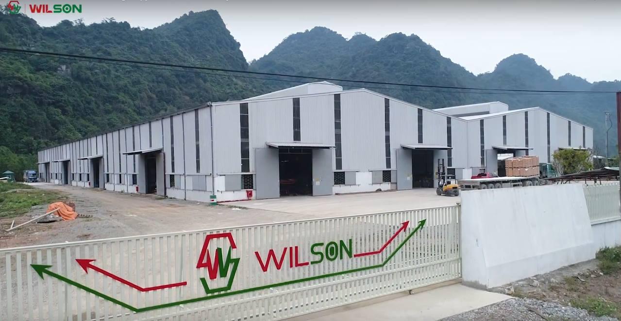 Nhà máy sản xuất sàn gỗ