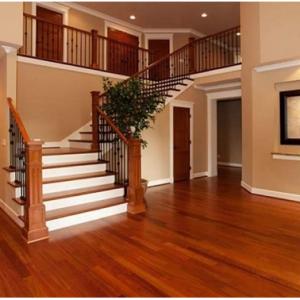 Vì sao nên lát mặt bậc cầu thang gỗ công nghiệp thay thế gỗ tự nhiên và đá tự nhiên