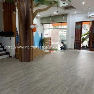 Sàn nhựa IBt tại trường mầm non Việt Anh - Hoàng Cầu
