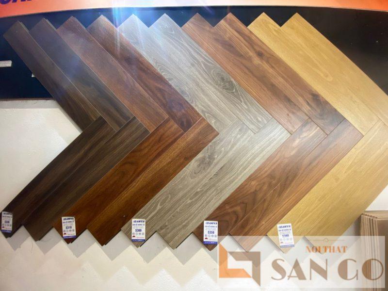 sàn gỗ Baniva xương cá